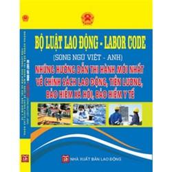 Luật lao động 2016 song ngữ Việt Anh