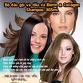 Dầu gội, xả kích thích mọc tóc Biotin - Collagen của Mỹ