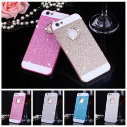 Ốp lưng Iphone 6-6 Plus kim sa đính đá sang trọng