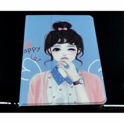 Bao da iPad mini 1-2-3 hiệu Macada mẩu hình xoay 360 - Mẩu 2