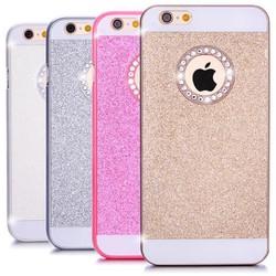 Ốp lưng Iphone 5-5S kim sa đính đá sang trọng
