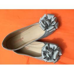 Giày búp bê nơ tròn - Made in VN