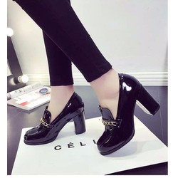 Giày loafer 7 phân phối xích
