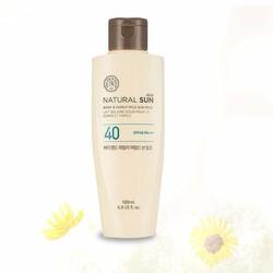 [chính hãng] Chống nắng Body Natural Sun Eco Body Family Mild Sun Milk