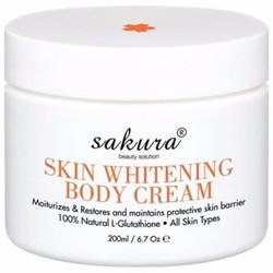 Kem dưỡng trắng da toàn thân BB Whitening Body Cream Sakura