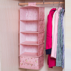 Tủ vải treo 5 tầng Hàn Quốc kèm 1 hộc tủ kéo SP107
