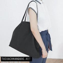 Túi xách vải bố Tote phong cách trẻ trung