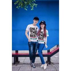 HÀNG LOẠI I - Sét áo cặp nam nữ sành điệu