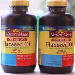 Omega 3 6 9 Flaxseed Oil Nature Made 300 Viên Của Mỹ