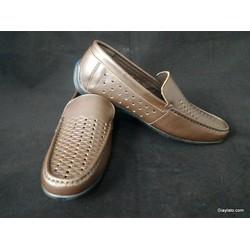 Giày lười LTM03015 chất liệu da thật trẻ trung thoáng mát