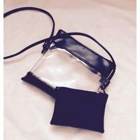 Túi đeo mini trong suốt cá tính - B5894 - Hàng Nhập