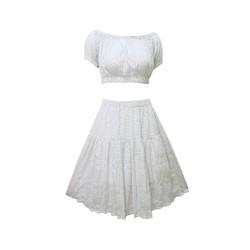 Set váy áo crop top