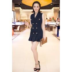 Đầm Giả Vest Sang Trọng Như Angela Phuong Trinh