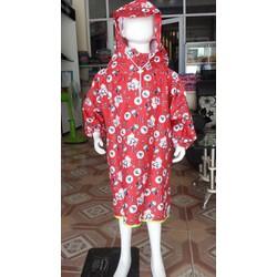 áo mưa bít cún đỏ cho bé   áo mưa trẻ em BB.EB7.PN.03