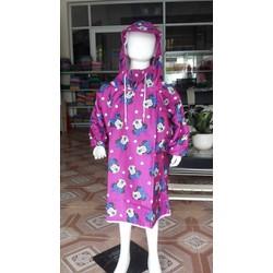áo mưa bít Mickey hồng cho bé | áo mưa trẻ em BB.EB7.PN01