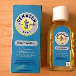 Tinh dầu tắm trị cảm Penaten ErkAltungsbad 125ml- Đức