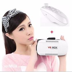 Kính 3D Vr Box - Tay Game Bluetooth Vr Case