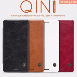 Bao da Sony Xperia X Nillkin Qin Leather Case