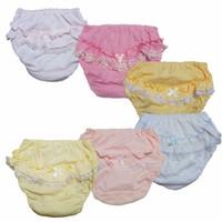 Bộ 6 quần lót-quần chíp bé gái bồng - Lybishop