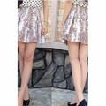 Chân váy không lưng họa tiết