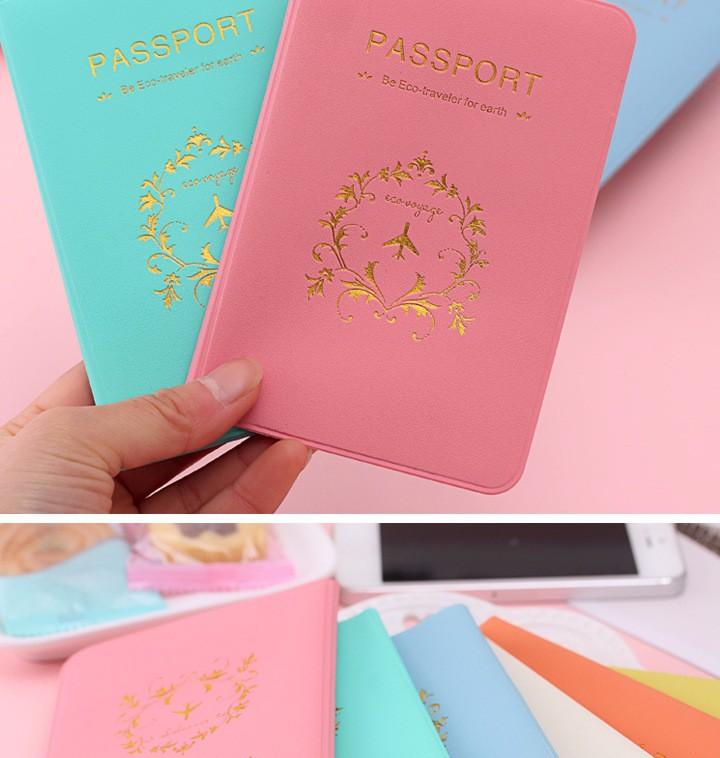 Combo 2 Ví Đựng Passport tình nhân 6