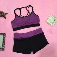 TT 09 - Bộ quần áo thể thao nữ tập Gym Yoga Aerobic