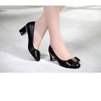 Giày cao cấp-giày gót vuông Berry 2241