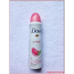 Xịt khử mùi toàn thân Dove