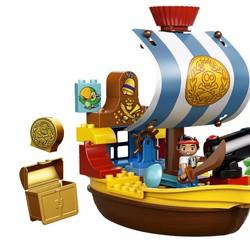 Đồ chơi Lego Duplo 10514 mô hình Tàu Cướp Biển của Jake