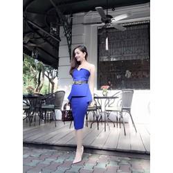 Đầm Cúp Ngực Peplum Sang Trọng - không kèm belt