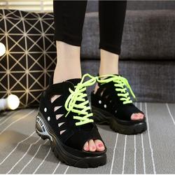 Giày nữ đế bánh mì kiểu dáng thời trang phong cách Hàn Quốc - XS0289