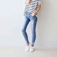 Quần jeans dài nữ