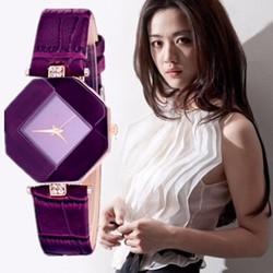 Đồng hồ đeo tay nữ thời trang ĐH09 tím