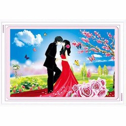 Tranh đính đá tình yêu - H303
