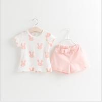 Bộ quần áo hè 2016 cho bé gái từ 1 đến 5 tuổi - VX516