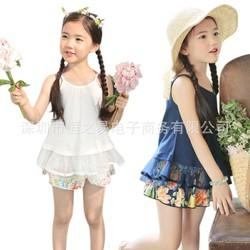Bộ đồ bé gái thời trang, kiểu dáng xinh xắn cho bé từ 2 - 7 tuổi