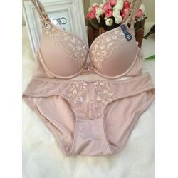 Bộ đồ lót Victoria Pink Dear giọt lệ