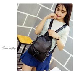 Balo đeo 2 kiểu Hàn Quốc mini black size nhỏ – 217
