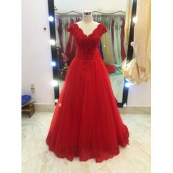 áo cưới đỏ tươi nhẹ nhàng giá mềm