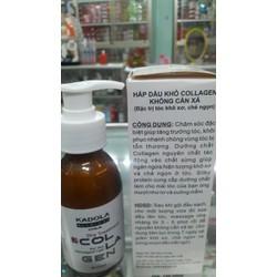 Hấp dầu khô Collagen Không cần xả - ĐẶC TRỊ  TÓC KHÔ XƠ CHẺ NGỌN