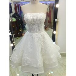 áo cưới mullet truoc ngắn sau dai