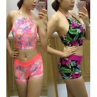 Bikini áo yếm trẻ trung B1044