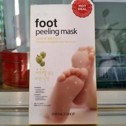 [chính hãng] Lột da chết bàn chân tự nhiên - Smile Foot Peeling Mask