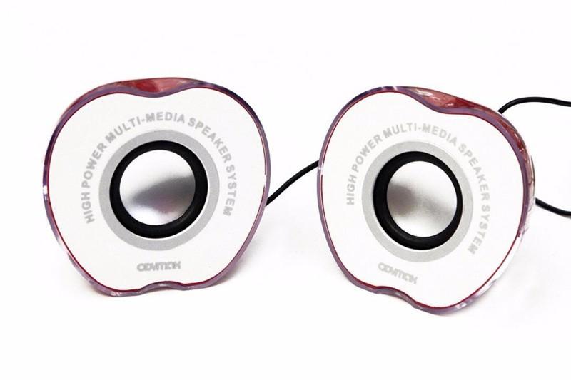 Loa di động 2.0 hình trái táo Loa 2.0 Kiểu Dáng Nửa Trái Táo G-005