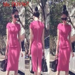 Đầm body thiết kế tay con đơn giản trẻ trung và sành điệu DOV967