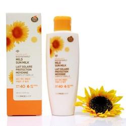 Sữa chống nắng Natural Sun Eco Body Family Mild Sun Milk SPF40 120ml