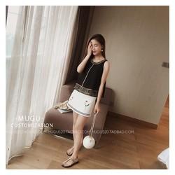 Chân váy hoa hàng nhập quãng châu - 1106.MK