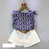 Bộ quần áo hè cao cấp bé gái  từ 1 đến 5 tuổi - VX532