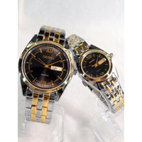 Đồng hồ cặp dây inox giá tốt C-SK716-SG