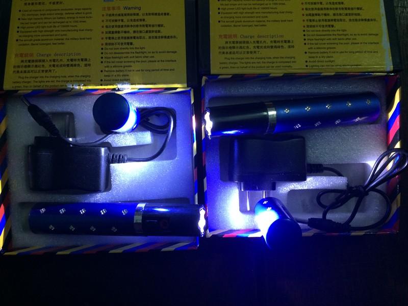 Đèn Pin Thỏi Son Chích Điện 6